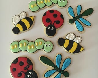 Bug theme Decorated Cookies