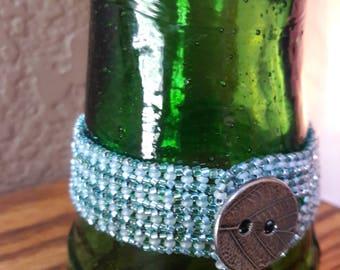 Hand sewn beaded bracelet