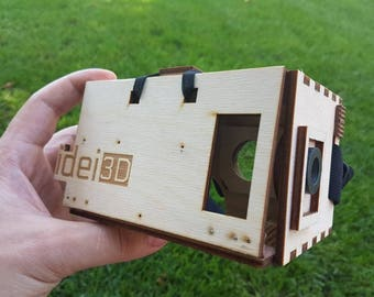 Virtual Reality Headset, VR goggles, Google Cardboard, VR Gear, Laser Cut VR