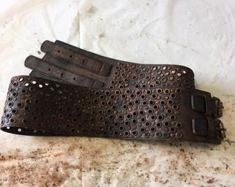 Copper Dusted Metal Wasteland Belt