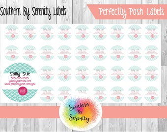 "Catalog Label | 1"" x 1"" 