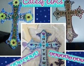 Customized Faith Crosses