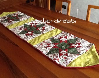 Christmas table runner made of American cotton