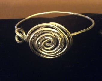Silver Shield Stackable Bangle