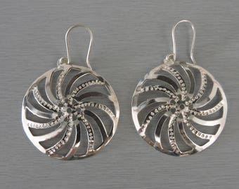 Earrings in Sterling Silver 925 very style
