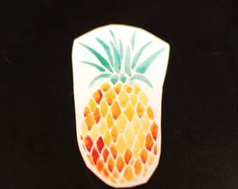 PINEAPPLE WATERCOLOR Temporary Tattoo