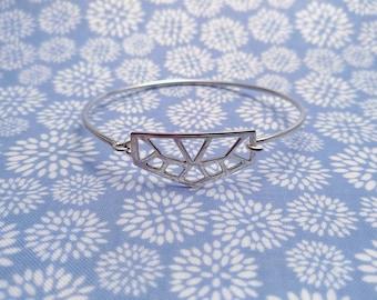 Pierced Silver 925 bracelet