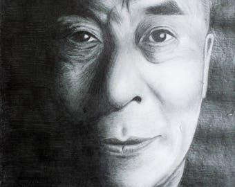 Dalai Lama Print