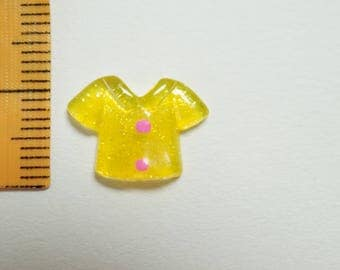 Yellow mini T-shirt