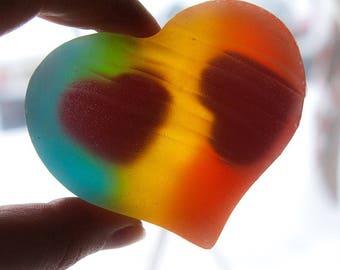 Heart soap