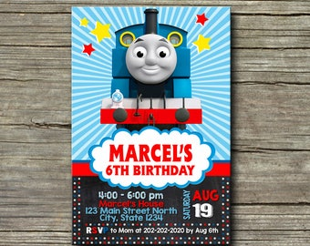 Thomas The Train Invitation,Thomas The Train Birthday,Thomas The Train Birthday Invitation,Thomas The Train Party,Thomas The Train-262