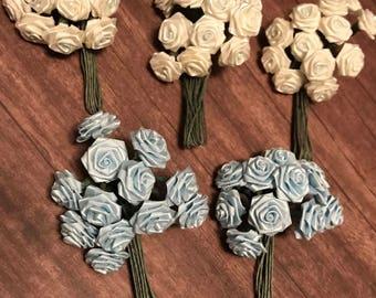 Miniature Rose Bouquet | Valentine's Day | Wedding Decor | Floral Arranging