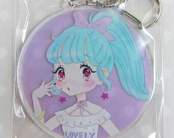 Keychain / key Ring [Lovely Girl, lovely girl KINKOJUICE