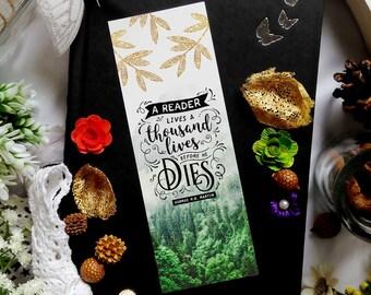 Thousand Lives - bookmark