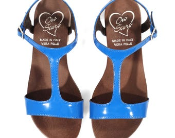 Low Heel Sandal Blu