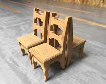 Miniature Chair Set