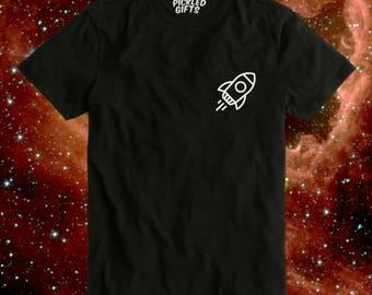 Little Rocket T-Shirt - Spaceship Flight Explorer