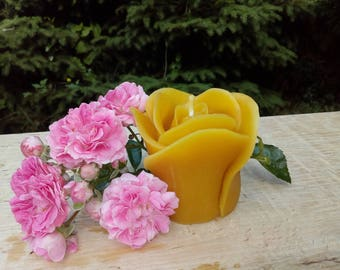 Pure Organic Beeswax Candle - set of 9