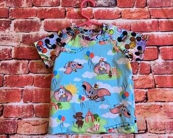 Flying elephant shirt