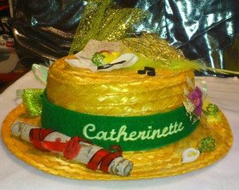 Customisation of st catherine Hat