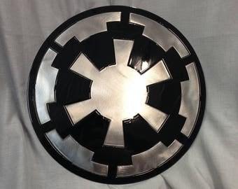 Metal Star Wars Empire Logo Art