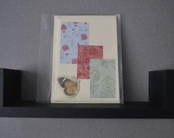 Butterfly Collage Card