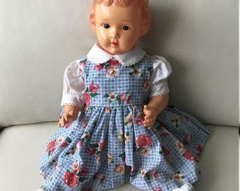 Celluloid vintage doll