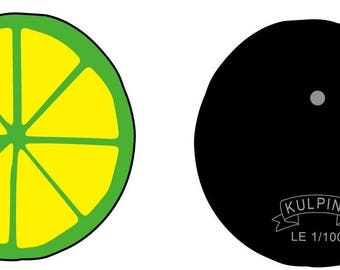 Koctel Lime Hard Enamel Pin