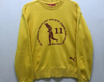 Rare!!! Puma Sweatshirt With Tag Small Logo Pullover