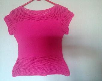 short sleeve cotton top