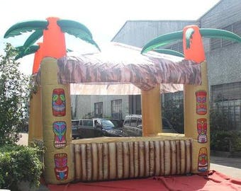 Inflatable Tiki Bar 4 Palms