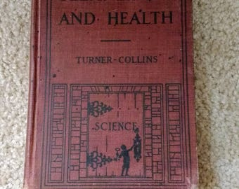 Vintage Science Book: Cleanliness and Health