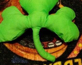 St. Patrick's Day Shamrock Pillow