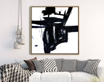 Black And White Abstract, Abstract Art Print,  Minimalist Art , Giclee Print, Abstract Wall Art, Home Decor, Wall Decor, Wall Art