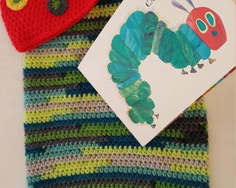 Hungry caterpillar cocoon, hat and board book 0-6 months