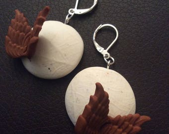 Fall earrings wings for various occasions!