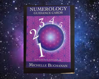 Numerology Guidance Card Readings - 1 or 3 Cards