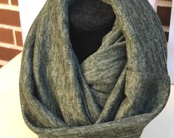 Circular scarf Infinite Green Dot