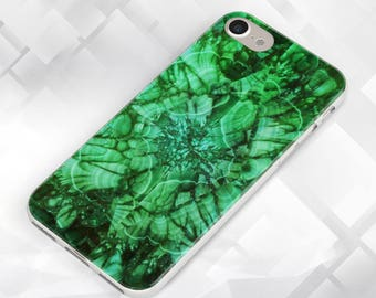 Green Malachite Case,iPhone Case,iPhone 6S,iPhone 7,iPhone 7 Plus,iPhone 5C,SE,5S & Touch 6,Samsung S8,S8 Plus,S7,Galaxy A3,A5,Green Marble
