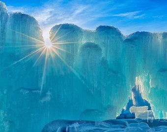 Ice Castle Burst