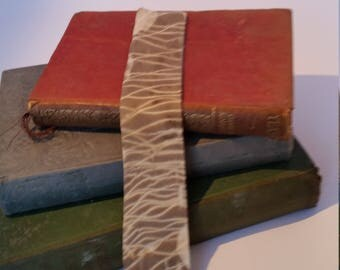 Eco Dyed Bookmark Silk