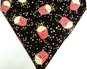 CLEARANCE Reversible Popcorn / Red Hexagon Bandana