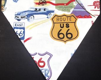 Reversible Route 66 / Classic Cars Bandana