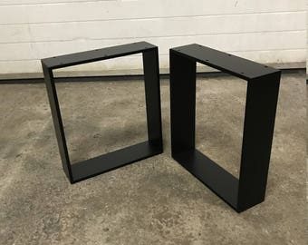2 Coffee Table Metal Legs, Industrial legs, Different sizes