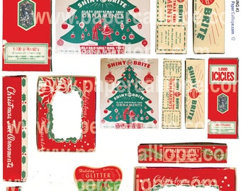 PaperCalliope - Vintage Christmas Packaging 3