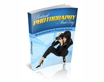 Portrait Photography Made Easy ebook Instant Digital PDF Download