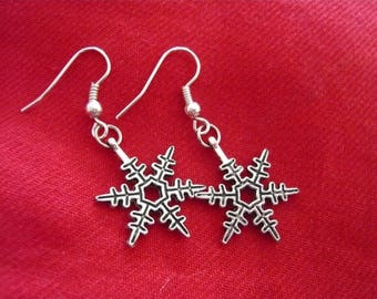 Snowflakes Silver earrings