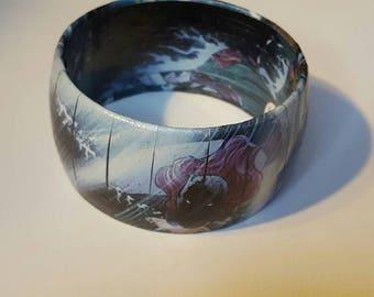 BATGIRL Bangle Bracelet - Comic Book Jewelry