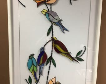 6 Bird Wall Hanging for your home