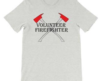 Volunteer Firefighter Short-Sleeve Unisex T-Shirt